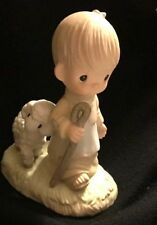 Precious Moments He Leadeth Me 1998 Limited Edition Event Figurine E1377R
