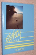 1986 Ayersville High School Yearbook Annual Defiance Ohio OH - Sohiray