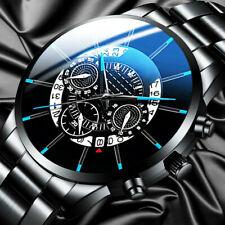 Luxury Men Watch Business Stainless Steel Date Sport Analog Quartz Wristwatches