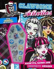 Monster High: Clawsome Activities-ExLibrary