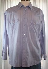 Western Shirt Size 2XL Rodeo Cowboy Steer Wrangler Pearl Snap Button Up