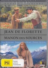 JEAN DE FLORETTE & MANON DES SOURCES - NEW & SEALED REGION 4 DVD FREE LOCAL POST