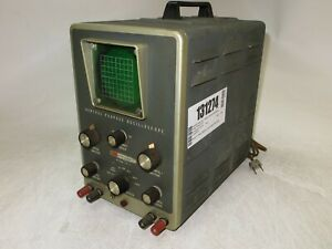 Heathkit Model 10-21 General Purpose Oscilloscope Power Tested AS-IS