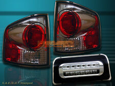 1994-2004 CHEVY S10 SONOMA TAIL LIGHTS 3D STYLE SMOKE + 3RD BRAKE LIGHT NEW