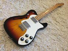 Rare 2009 Fender Classic Player Thinline Telecaster in Sunburst
