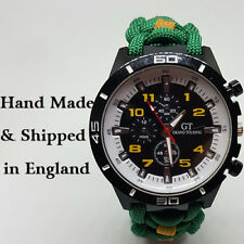 Paracord Watch with Highland Light Infantry (HLI) Colours a Great
