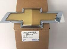 OEM NEW Front Bumper Emblem Badge Fascia Gold & Chrome 10-14 Equinox 22760645
