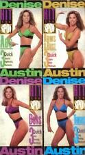 Denise Austin Fitness Workout Hit the Spot Arms Bust Abs Buns Thighs Lot 4 Vhs