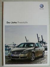 Prospekt Volkswagen VW Jetta Sondermodell Freestyle, 11.2009, 10 Seiten