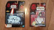 STAR WARS Episode I Battle Bags SEA CREATURES & FREE Tatooine Accessory Set