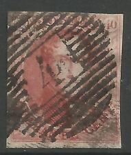 BELGIUM. 1849. 40c Carmine - Wmk in Frame. SG: 5. 4 Margins. Good to Fine Used.