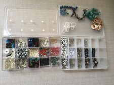HUGE lot of assorted gemstones & beads for jewelry making