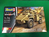 Revell (Ex Matchbox) British HUMBER Mk II Scout Car Kit With Diorama