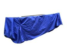 SET OF 2 SLIPCOVERS (COVERS) FOR IKEA KLIPPAN LOVESEAT 2 SEAT SOFA BLUE & BEIGE
