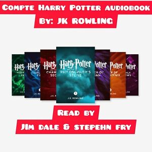 Complet Collection Harry Potter SET [1-7] [AUDIOBOOK] by Jk Rowling