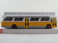 Busch 44518 Amerik. Bus Fishbowl (1959) mit Schilderausstattung 1:87/H0 NEU/OVP