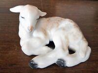 Rosenthal Porcelain Lamb Lying Down Sheep German China Figurine Animal
