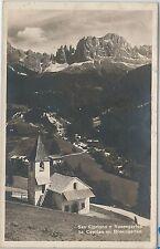 CARTOLINA d'Epoca - BOLZANO  -  TIRES: San Cipriano 1924