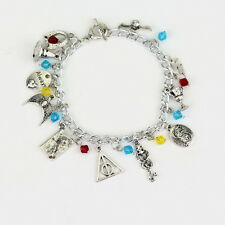 Harry Potter Charm Bracelet, Wizarding World, Noble, Always, Deathly Hallows