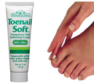 Miracle Toenail  60% Aloe Vera Gel Softener Helps Prevent Ingrowing Toe Nails