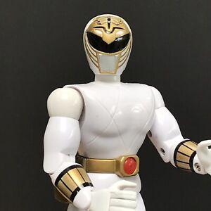 """Power Rangers MMPR White Ranger 8"""" Action Figure 1993"""