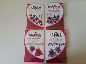 Heartfelt Creations Classic Petunia Stamps and Die Set NEW AND SEALED