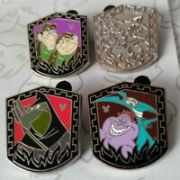 Villainous Sidekicks 2014 Hidden Mickey Series Set WDW Choose a Disney Pin