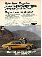 1972 Chevy Nova White Top  Auto Refrigerator Tool Box  Magnet