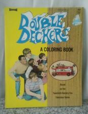 Vintage 1971 Double Decker Coloring Book