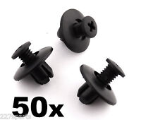 50x Mazda Plastic Trim Clips, Wheel Arch Linings, Windscreen Cowl & Shields