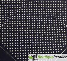 Deluxe SEWARD BANDANA Paisley Polka Dots 100% COTTON Head Wrap Bandanna Super