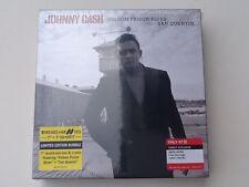 """Johnny Cash Limited Edition 7"""" Vinyl Folsom Prison Blues/San Quentin & XL Tshirt"""