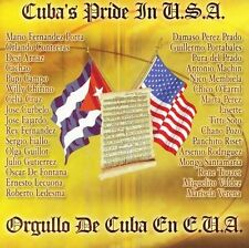 NEW Cuba's Pride In USA / Orgullo De Cuba En E.U.A (Audio CD)