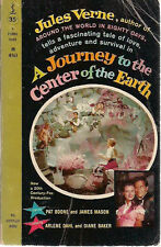 A JOURNEY TO THE CENTER OF THE EARTH by Jules Verne (1959) Pocket Books movie pb