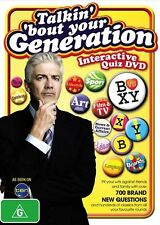Talkin 'Bout Your Generation  - Interactive Quiz DVD (DVD, 2010) NEW, FREE POST