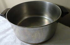 VTG REVERE WARE COPPER CLAD BASE 6 QT POT DUTCH OVEN PAN WITHOUT LID CLINTON USA