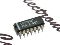1pcs - RCA CD4095BE Integrated Circuit / IC - NOS