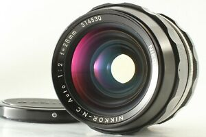 [Exc+5] Nikon Nikkor-N.C Auto 28mm f2 non AI MF Wide Angle Lens from Japan #586