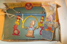 Vintage Disney Donald Duck Acrobat Gym Set Baby Crib Toy