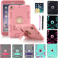 SHOCKPROOF ARMOR HEAVY DUTY TOUGH CASE FOR APPLE IPAD 2 3 4 MINI AIR 1 & 2