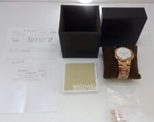 Michael Kors - Rose Gold Watch - MK5223 - With Box - Chronograph Face - Genuine