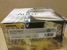 P800 Mirka Autonet Abranet Mesh Discs 150mm   Box (50)   Hook & Loop Grip system