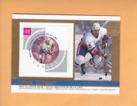 2003 CANADA POST STAMP CARD MIKE BOSSY #23 NEW YORK ISLANDERS