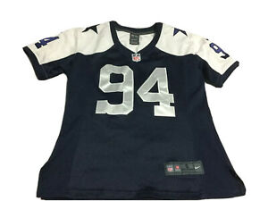 Dallas Cowboys Ware #94 Nike On-field Stitch Jersey Small Blue
