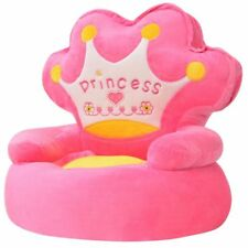 Kids Children Armchair Girls Toddlers Bedroom Playroom Soft Comfy Chair Seat New