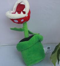 New Piranha Plant Super Mario Bros. Plush Stuffed Animal Nintendo Authentic Doll
