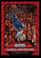 JAMAL CRAWFORD /350 142 CLIPPERS PRIZMS RUBY WAVE REFRACTOR 2015-16 PANINI PRIZM