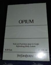 Opium Yves Saint Laurent Refreshing Body Lotion 200 Ml. & Boxed Vintage