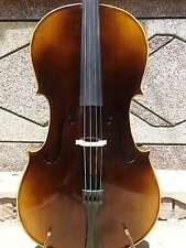 4/4 Cello full Hand made antique style flamed maple wood back spruce top