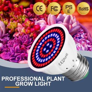 60LED Grow Light Full Spectrum Indoor Hydroponic E14 For Vegetables Plant Flower